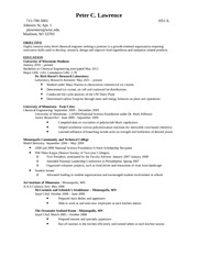 Lawrence Resume - Hydrite Chemical Co.