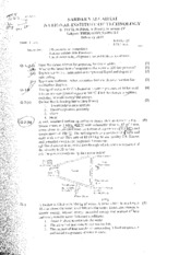 Thermodynamics-I-Mid Sem. Exam-Feb-2010