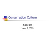 Microsoft PowerPoint - consumption