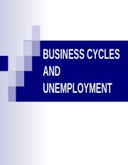 Econ(chpt 4) Power Point_Business Cycles & Unemplyment.ppt