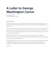 Letter to George Washington carver.docx
