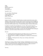 ENG 315 - Job Application Cover Letter Sample Assignment.docx