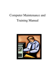 Computer Maintenance and Training Manual