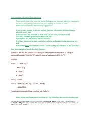How to answer calculation type questions.docx
