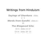 Writings from Hinduism.pptx