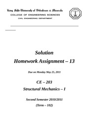 HW - 13c Solution Due May 23 - Post