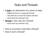 Multithreading Notes