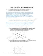 -Market Failure