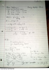 Finite Math Notes