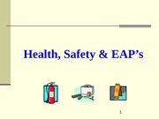Ch 12 Health Safety and EAPs