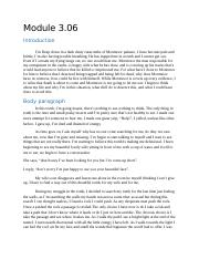 montresors point of view essay