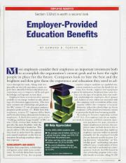 2nd article for research on employer tuition  peer review