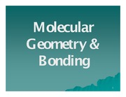 molecular egeometry lab (exp 3)