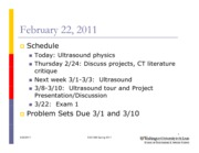 ESE589 Lecture Ultrasound physics2011