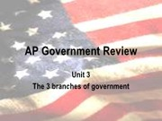 Governmental Policy Review