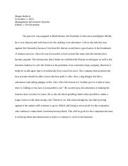 Debate Paper 1 Net Neutrality