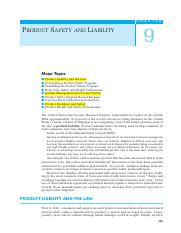 091 Ch09 Product Safety