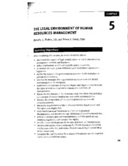 Ch. 5 of Human Resources in Health Care