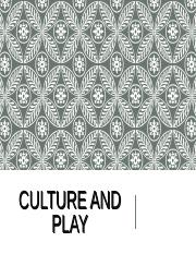 Culture & Play Spring 2016.ppt