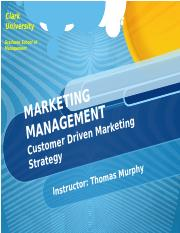 MKT Management Chapter 6 Customer Strategy.pptx