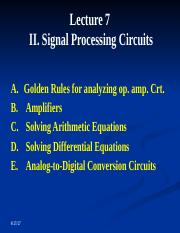 LECTURE 9 AND 10 PROCESSING ANALOG SIGNALS PART 3 2017 (1).pptx