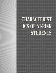 Characteristics of At-Risk Students.pptx