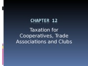 Topic 13 - Co-op  TA  Clubs (1)