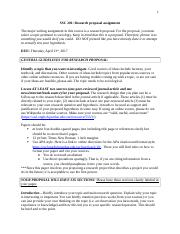 SOC201_research proposal assignment and rubric copy