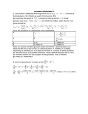 HomeworkWorksheet10Solutions