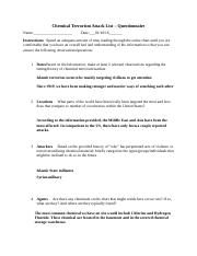Chemical Terrorism Answers.docx