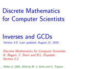 COMP170_L5_Inverses and GCDs_p