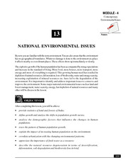 13_National Environmental Issues