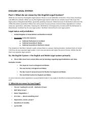 English Legal System (WEEK 1-WEEK 4).docx