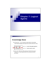 Chapter7 Logical Agents (3)