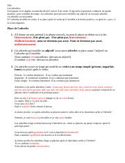 FR3 les adverbes p. 339-342