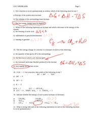 Chapter 17 Problem Solution