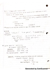 Composite Function Notes