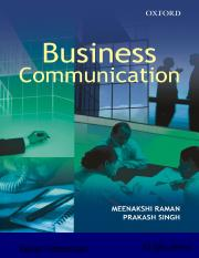 1a.PowerPoints_Business Communication_Raman&Singh