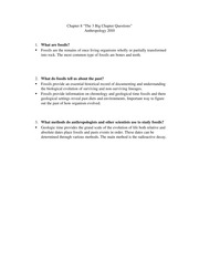 anthro2010 Chapter 8 the big 3 questions
