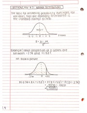 normal distributions examples