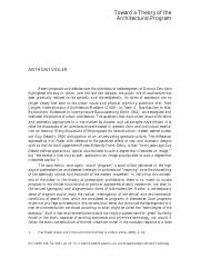 Anthony Vidler_ Toward a Theory of the Architectural Program.pdf
