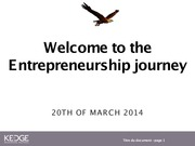 ENTREPRENEUR SESSION 6