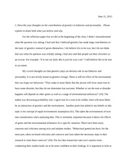 Final Reflection - Essay