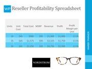 Unformatted Text Preview Units Unit Total Cost Msrp Revenue Profit Margin Per 20 45 900 95 1 000 111 35 575 3 325