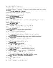 RADD 2501 Final Exam Study Questions 2