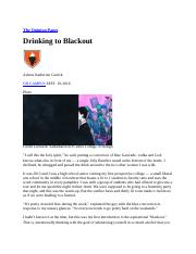 Drinking to Blackout.docx