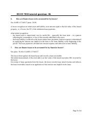 Solutions tutorial questions 06 Busn7050