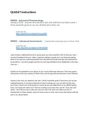 QUIZLET Chamberlain Group Instructions docx - QUIZLET Instructions