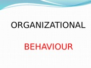 (01) Mr. Nishan - Organizational Behaviour