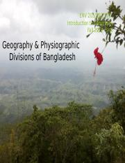 SMO Env 203 2019_1 Geography and Physiography of Bangladesh.pptx